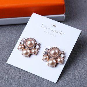 Kate Spade PearL Zircon Earrings